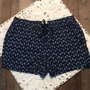 St. John's Bay women's XXL linen blend shorts nwot